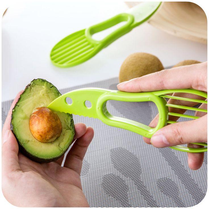 Творческий авокадо станок, Тройной все фрукты pitaya дыня многофункциональный инструмент резак купить на AliExpress