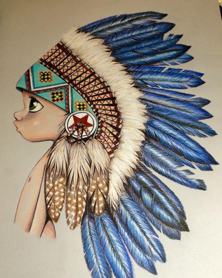 emmanuelle colin indian coloring
