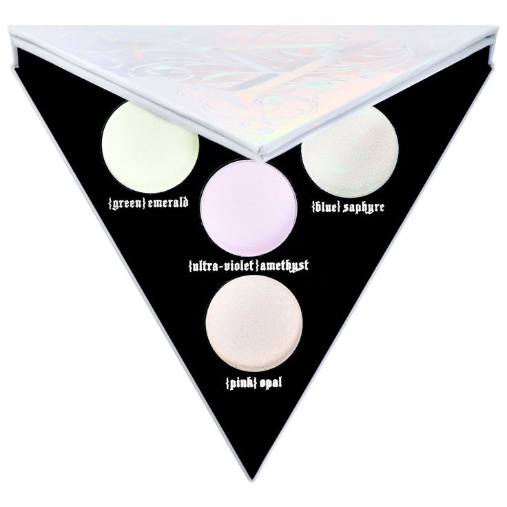 Shop Kat Von D's Alchemist Holographic Palette at Sephora. The eye, lip, and face transformer palette features four holographic shades.