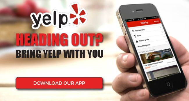 The free Yelp mobile app is the fastest and easiest way to search for businesses near you. Download it now to get started.
