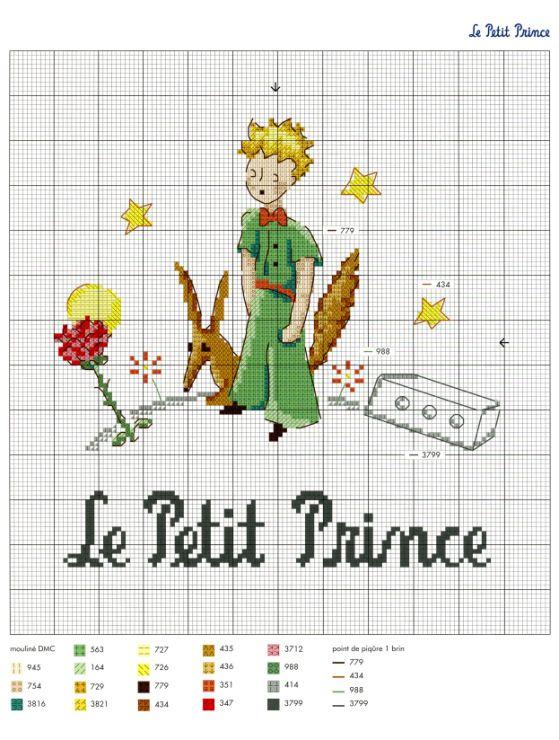 Gallery.ru / Фото #8 - Le Petit Prince a broder au point de croix 2017 - Chispitas
