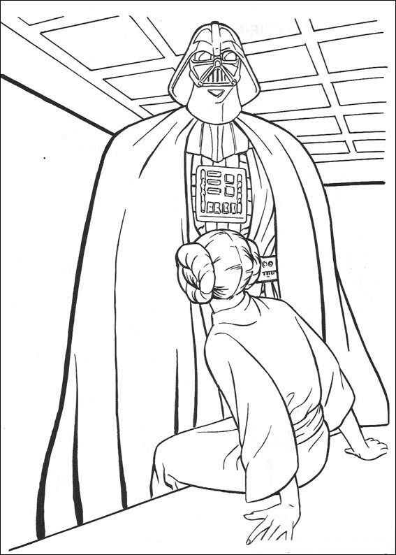 105 best coloring star wars images on Pinterest | Adult coloring ...