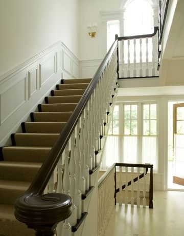 Carpet staircase example
