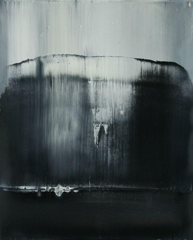 """Koen Lybaert; Oil 2014 Painting """"abstract N° 908"""""""