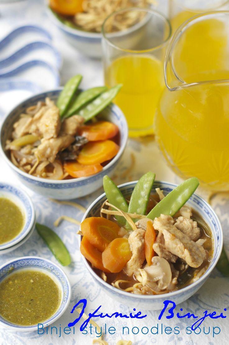 Indonesian Medan Food: Ifumie Binjei ( Binjei Style Noodles Soup)
