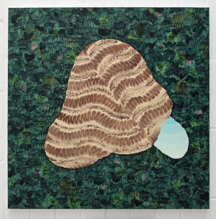 Amber Wilson, Lunar Rille, 2012, Oil on canvas