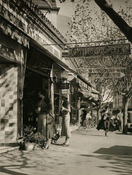 Harold Cazneaux  Darlinghurst Road   1933 Sydney australia