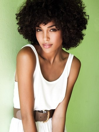 Laura Scott Major Model Natural Hair Pictures #NaturalHair