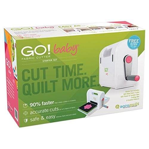 cool AccuQuilt GO! Baby Fabric Cutter Starter Set