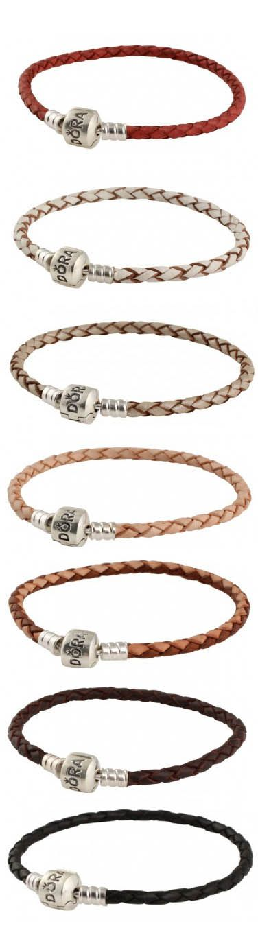 Pandora Leather Bracelets, Necklaces & other products available at Tany's Jewellery in northland mall of Calgary yyc http://www.tanysjewellery.com/