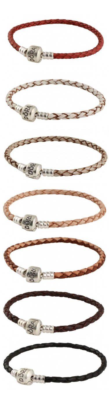 Pandora Leather Bracelets & Necklaces
