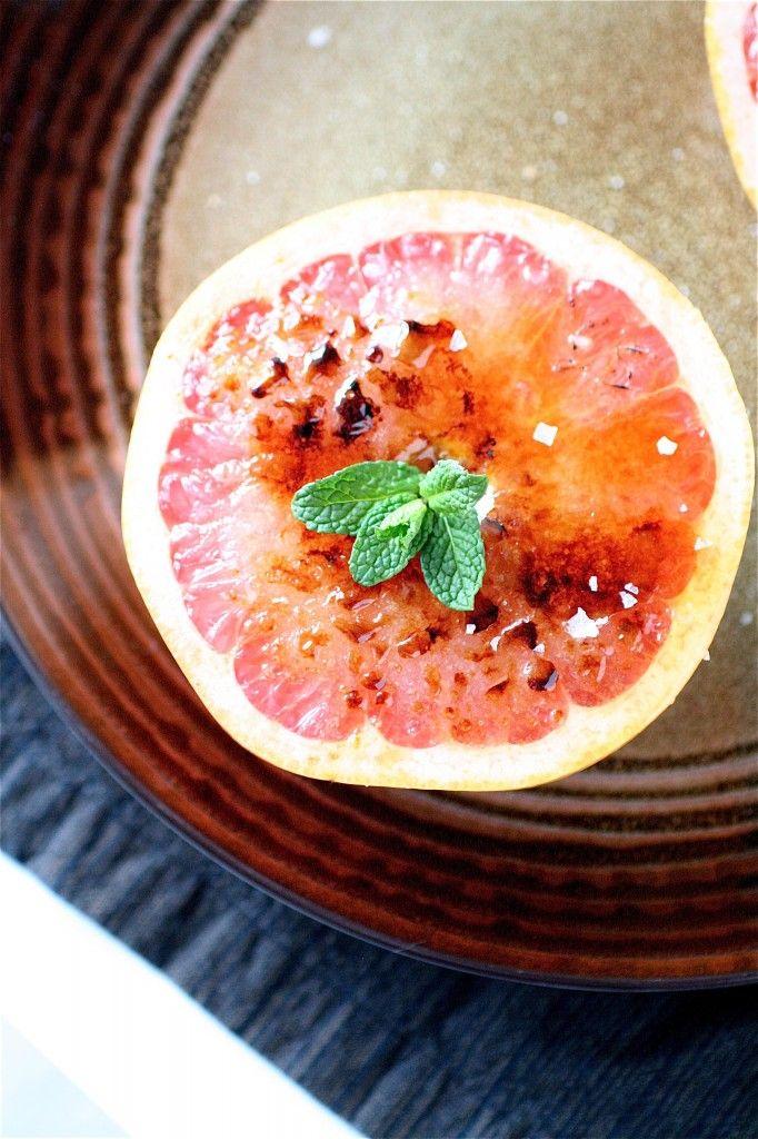 Broiled Grapefruit: Brown Sugar, Recipe, Broil Grapefruit Yessss, Yummy Things, Broil Grapefruityessss, Sea Salts, Carrots, Lights Desserts, Healthy Desserts
