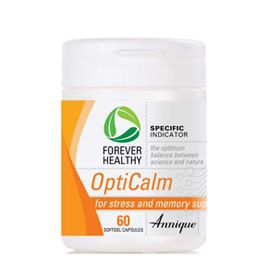 OptiCalm – 60 Softgel capsules Stress can lead to anxiety, memory problems, fatigue, insomnia and agitation. Prolonged exposure to stress eventually depletes the body of vital vitamins and can cause burn out other major problems. http://www.anniquedayspa.co.za/eb_product/opticalm-60-softgel-capsules/