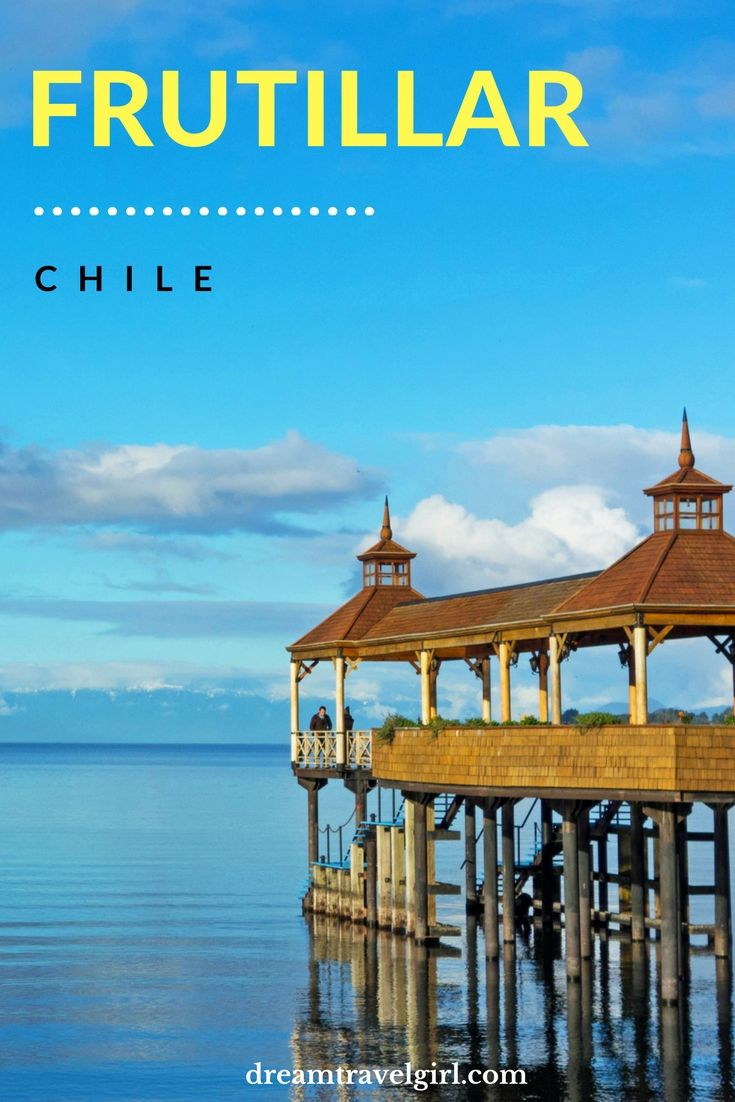 Chile travel: Frutillar is an off the beaten path village on the shore of the lake Llanquihue, in the Lakes Region (Región de los Lagos) in the South of Chile. It has views of the Volcano Osorno and is so charming that it feels like being in a fairy tale.