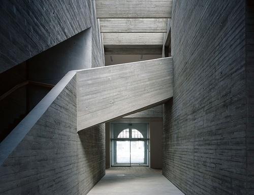 : Galleries, Architects, Interior Architecture, Space, Mostyn Gallery, Design, Concrete, Amazing Architecture