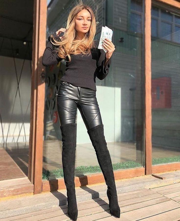жить сегодняшним девушки в кожаных штанах и сапогах фото проститутках хабаровска хабаровского