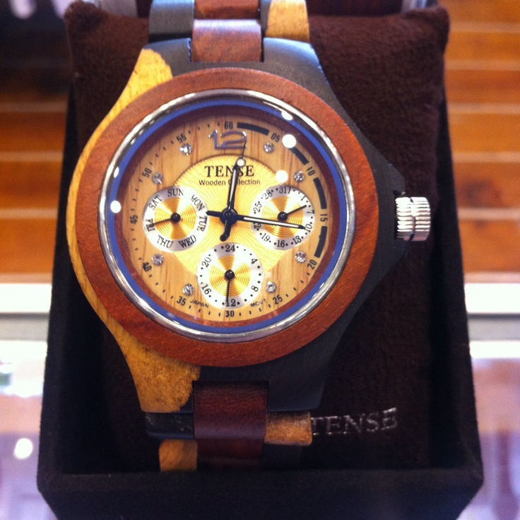 Tense wooden Watches have been a great addition to our store- Mangos Boutique