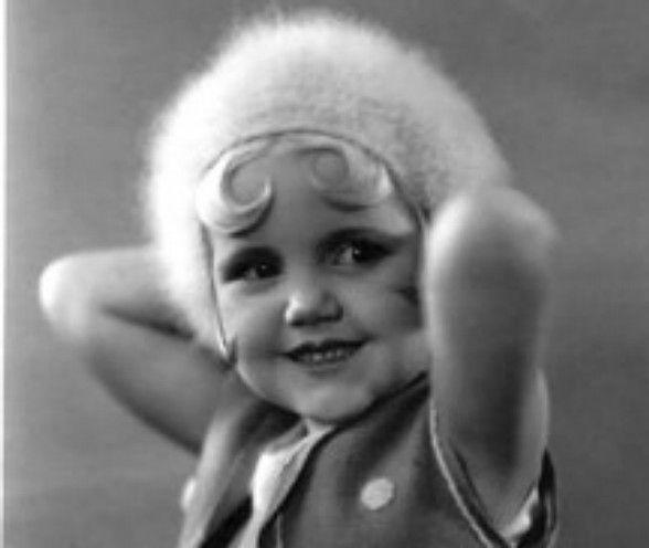 Bea Arthur as a child! Always a golden girl!