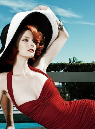 Beautiful!!! Model: Lydia Hearst | Photographers: Steven Gomillion & Dennis Leupold - for ELLE Magazine Spring issue