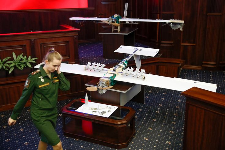 FOX NEWS: Russian military shows drones it says came from Syria raid