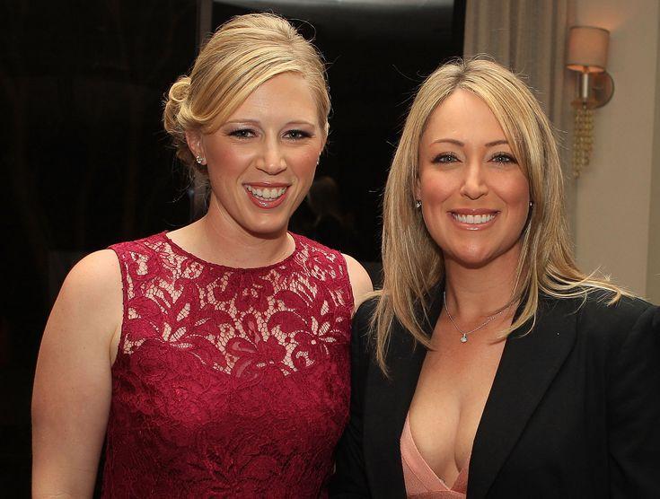 Cristie Kerr Glamour Shots: Cristie Kerr and Morgan Pressel at the Gala