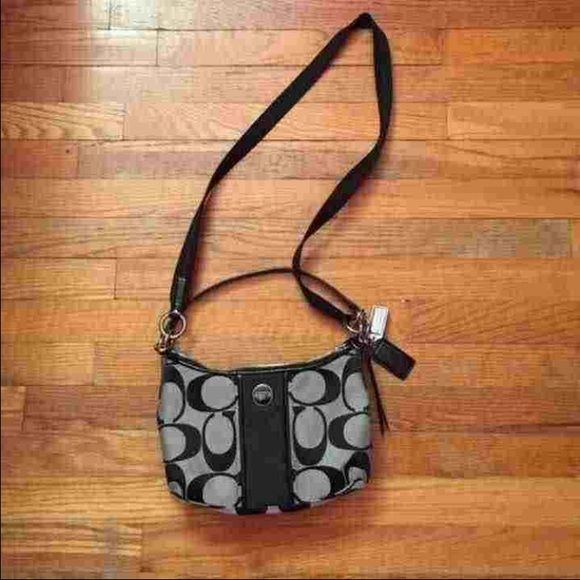 Coach purse! Super fashionable and madly cute! The long strap does come off and is adjustable. The coach purse is authentic, bought from the coach store! Coach Other