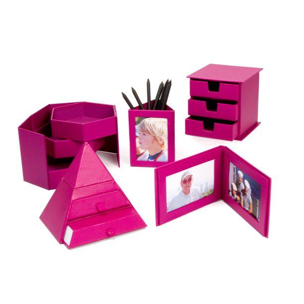 Pink Office/ Desk Supplies