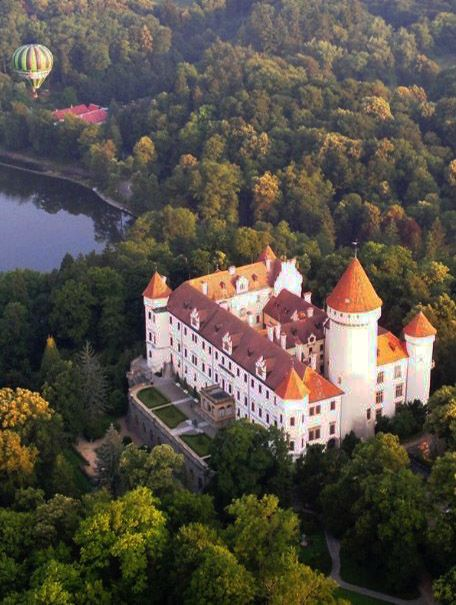 Konopiště castle (Central Bohemia), Czechia #castle #Czechia
