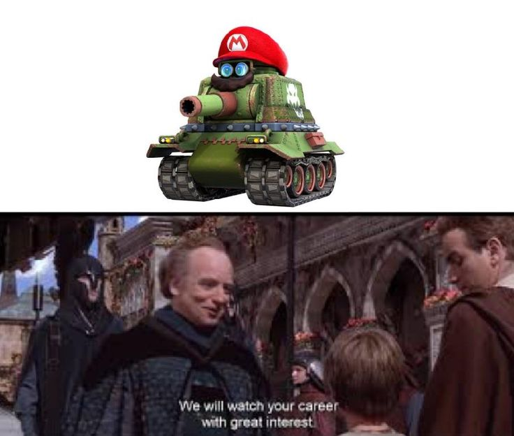 Mario's Midichlorian count is off the charts!