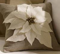 Pottery Barn knock-off Christmas pillow
