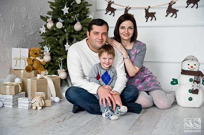 семейная новогодняя фотосессия - Поиск в Google