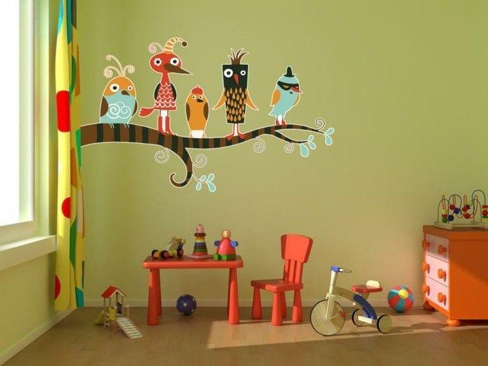 Kinderzimmer wandgestaltung bauernhof  30 besten Wand Baum Bilder auf Pinterest | Kinderzimmer ...