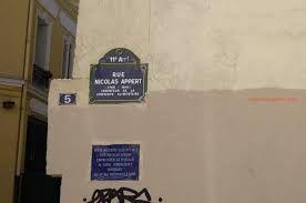 """Résultat de recherche d'images pour """"rue nicolas appert"""""""