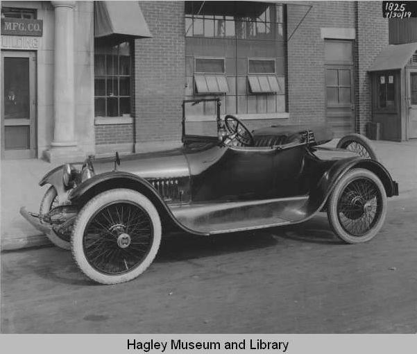 1919 by edward g budd manufacturing co philadelphia pa for Motor vehicle philadelphia pa