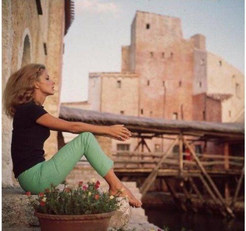 Dolores Guinnes at Cala di Volpe