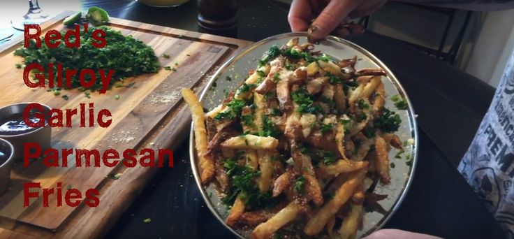 [Homemade] Garlic Parmesan Fries [2249 x 1047]