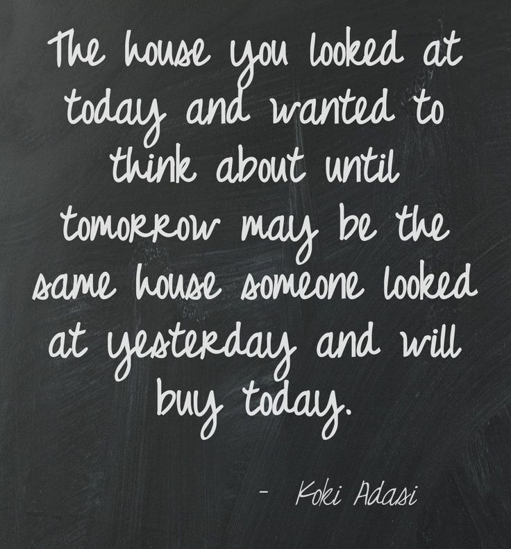 real estate quotes | www.kokiisthekey.com This quote courtesy of @Pinstamatic (http ...