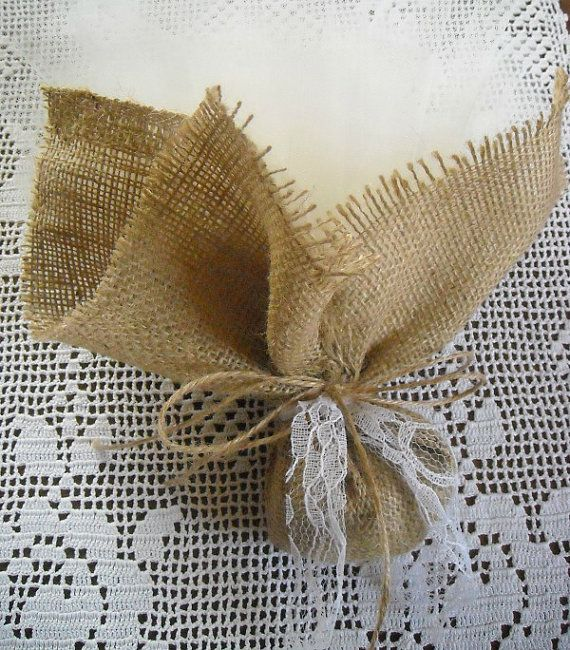 Tulle and burlap wedding or bridal shower by FavorsAndMorebyFiona, $3.00