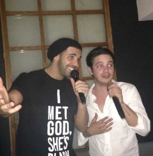 """PY GEAR™: """"I MET GOD SHE'S BLACK"""" T-shirt as worn by Drake a..."""