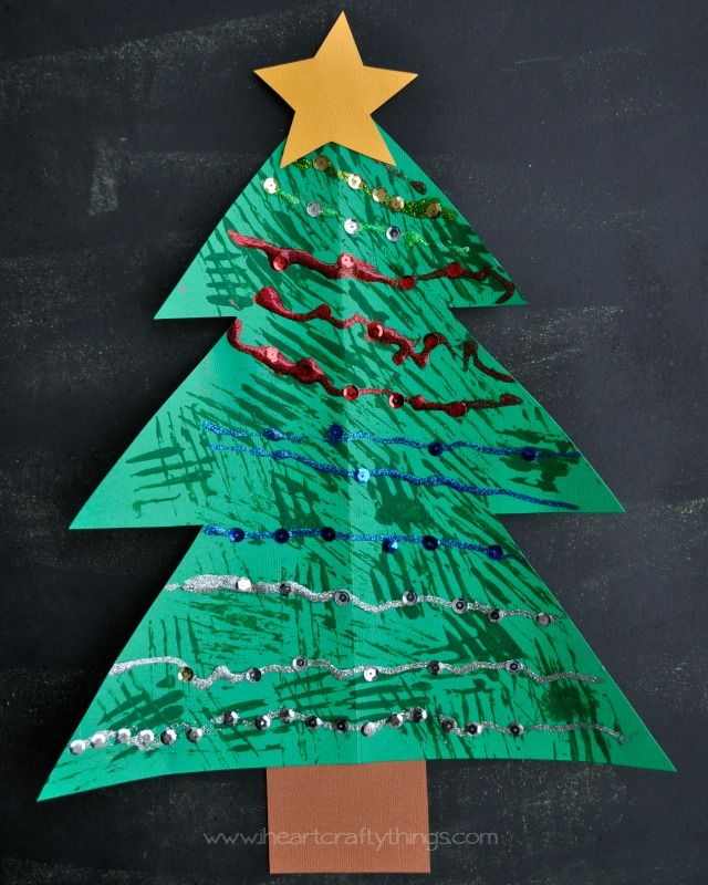 Christmas Tree Fork Painted Craft 69 best