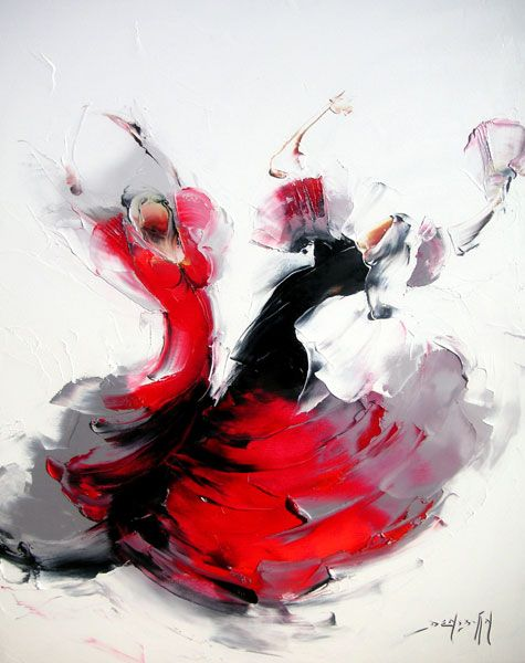 dancers by Daniel Densborn