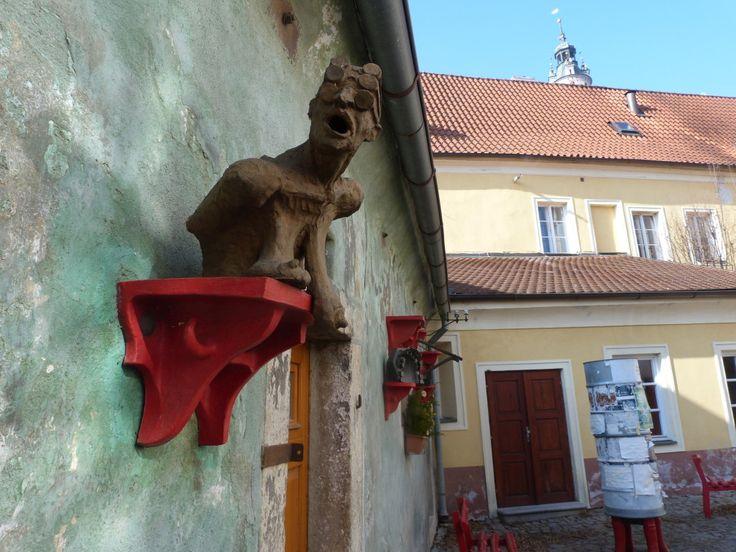 Art in Cesky Krumlov
