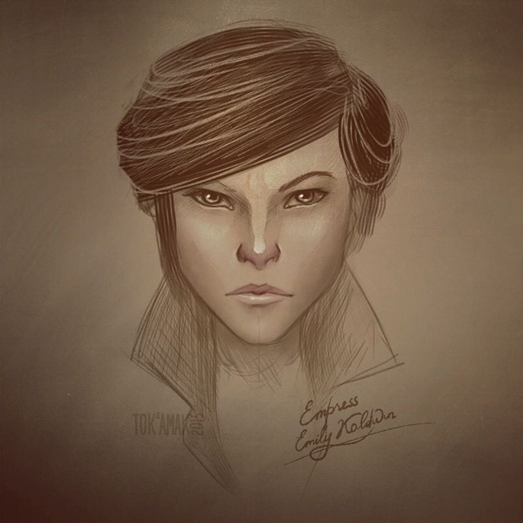 Emily Kaldwin. Waiting for Dishonored 2!