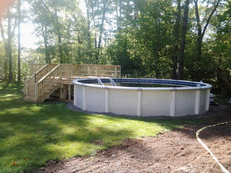 Free Standing Above Ground Swimming Pools: Http://www.abovegroundpoolbuilder.com/above-ground-pool