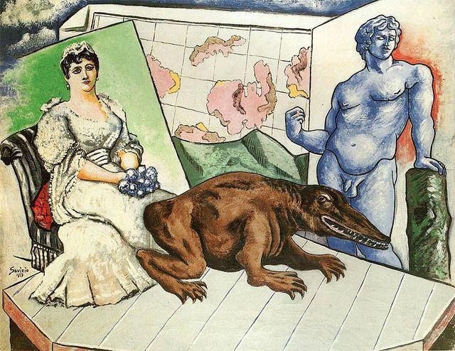 Savinio, Alberto (1891-1952) - 1927 Atlas | Flickr: Intercambio de fotos