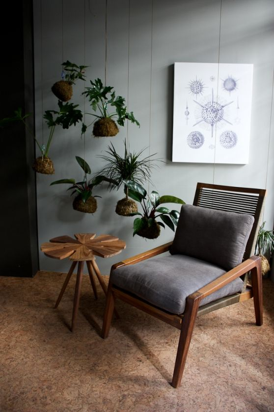 John Vogel chair and table. Exhibiting at 100% Design South Africa 2014