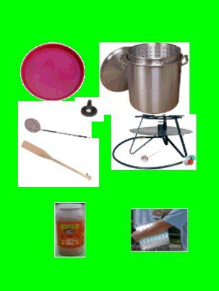 Crawfish Cooker - Crawfish Boiler Kit - Complete Crayfish Cooker