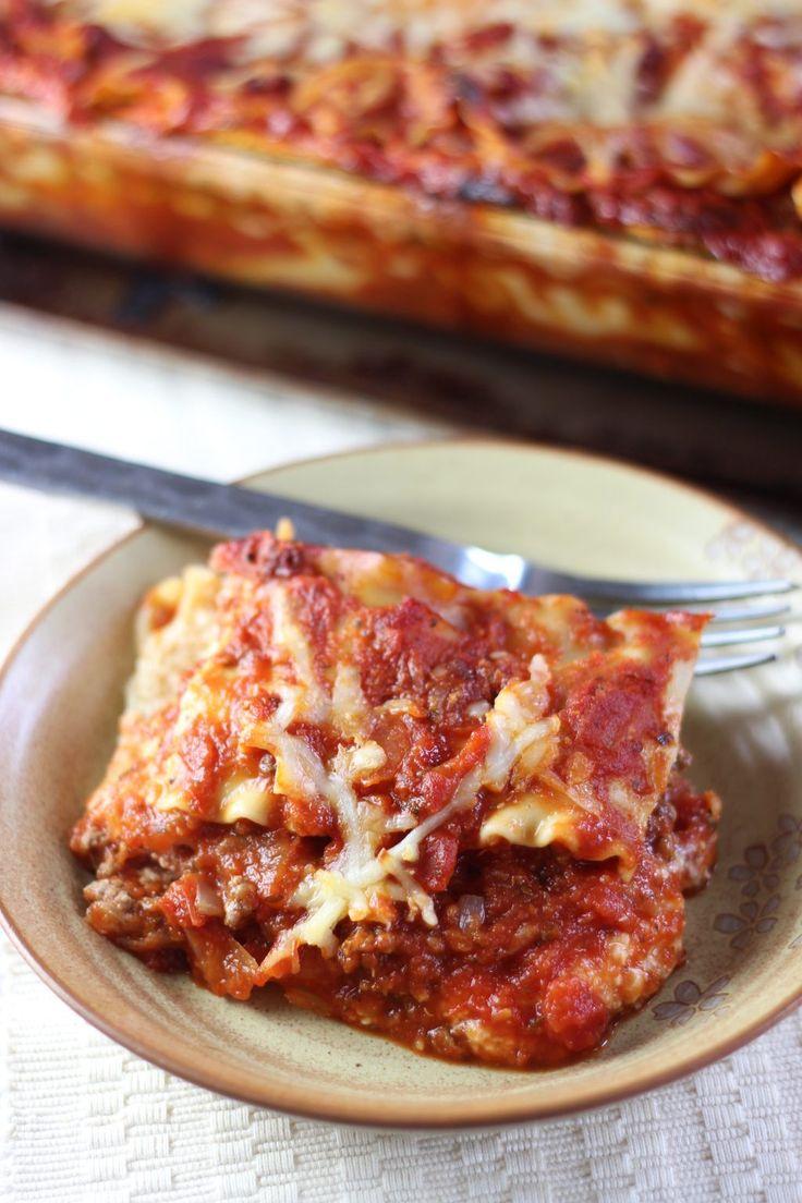 Fresh Five Cheese Lasagna