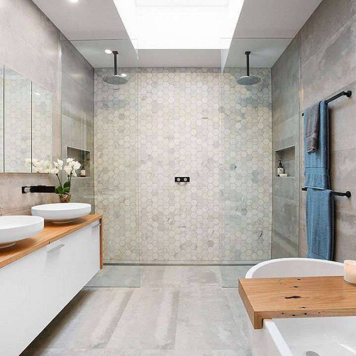 12 best images about his n her 39 s showers on pinterest for Bathroom design 9 x 11