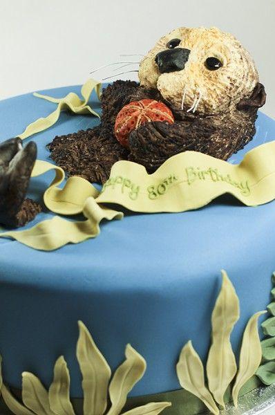 sea otter cake
